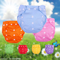 Washable Waterproof Organic Cotton Reusable Panties Ecological Absorbing Diapers Cover Children Modern Cloth Nappies Fraldas