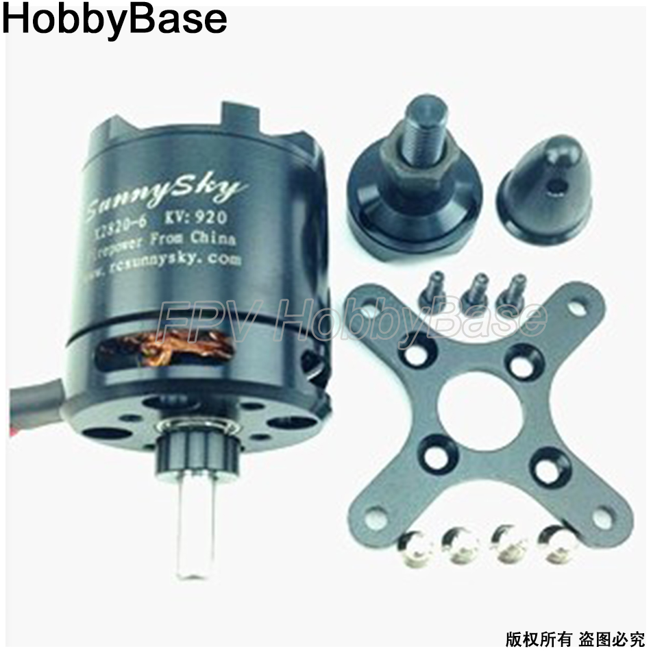 SunnySky X2820 800KV 920KV 1100KV Brushless Motor For RC Airplane Quadcopter Hexrcopter rc motor sunnysky m5212 280kv 340kv