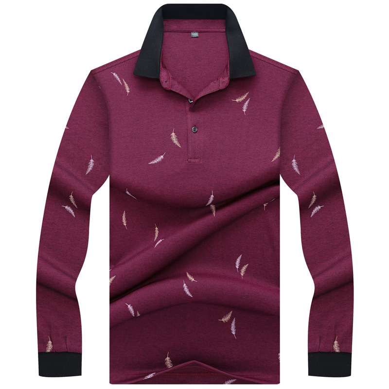New Arrival Tace & Shark   Polo   Shirt Men Long Sleeve High Quality Smart Casual Cotton Lapel camisa homme Men's   Polos   shirts