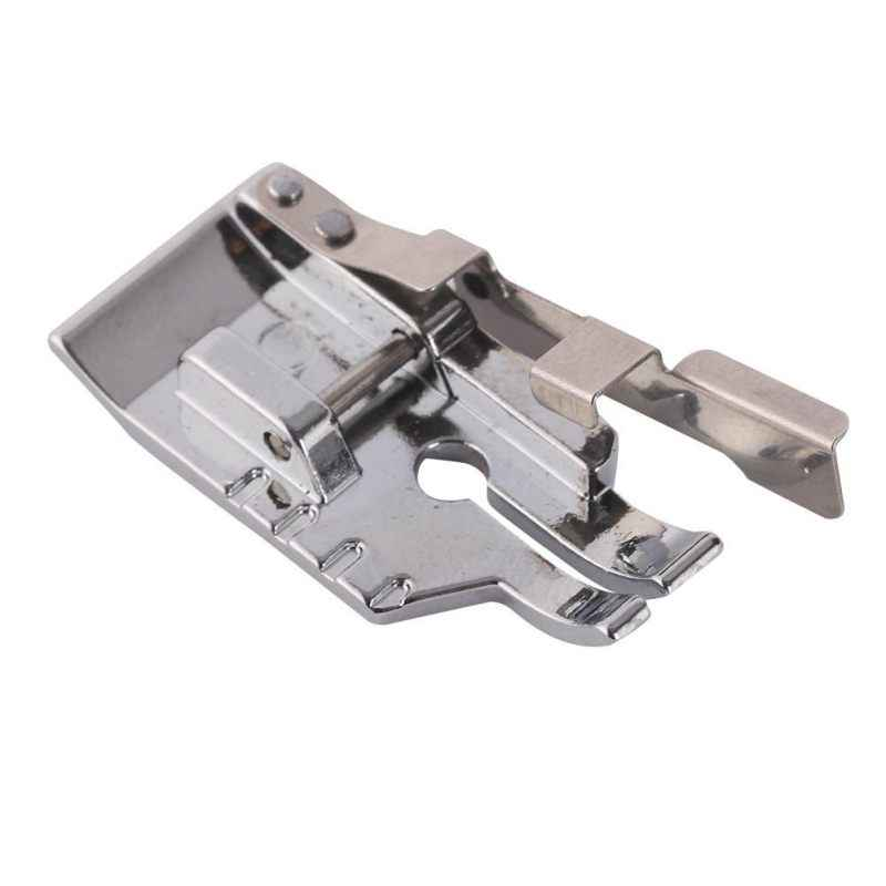 1/4 Inch Guide Silver White Metal Snap On Quilting Patchwork Foot Sewing Machines Sewing Tools High Quality