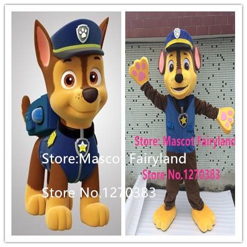 High quality 2016 New Arrival Adult Minions Dog Mascot Costume Fancy Dress Suit Cartoon Mascot Chase the mascot costume