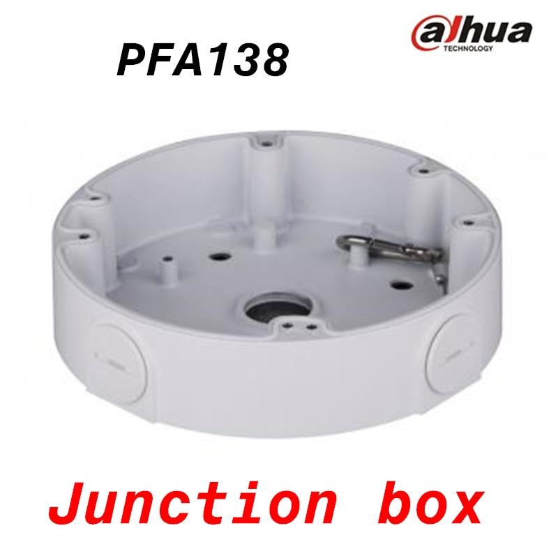 DAHUA Junction Box PFA138 IP Camera Brackets CCTV Accessories dahua pfa130 water proof junction box cctv accessories ip camera brackets pfa130