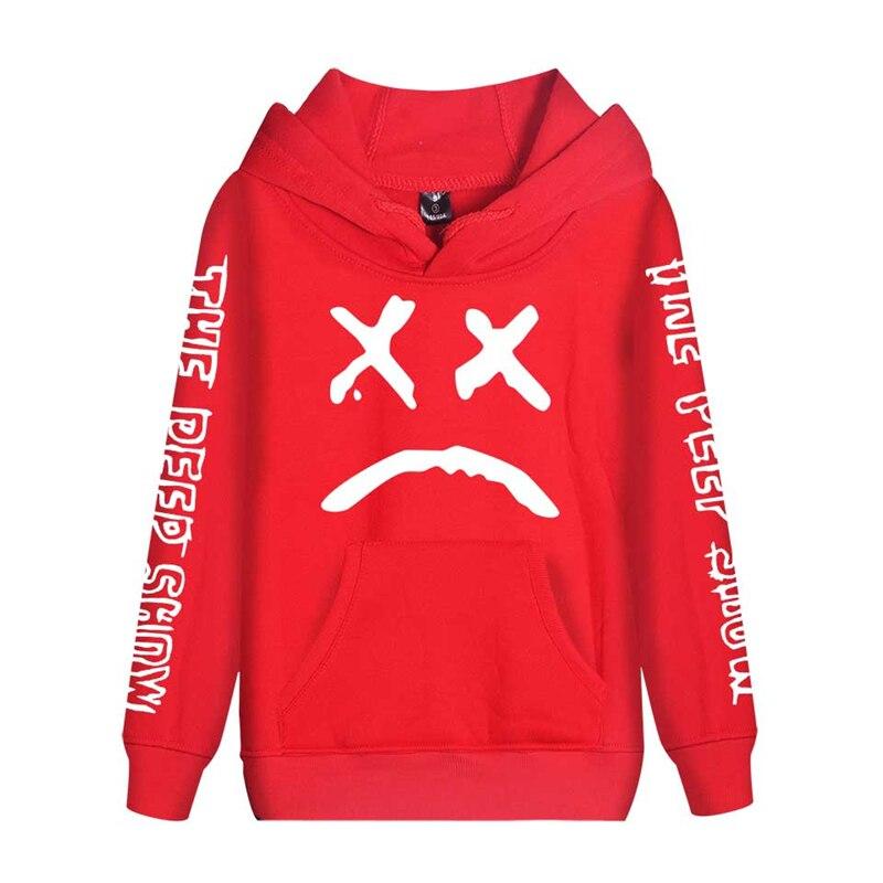 Image 5 - Cap&Mask as gifts Lil Peep hoodies men women boy girl sweatshirts hip hop Rapper Bboy DJ dancer DJ hooded jacket tracksuits coat-in Hoodies & Sweatshirts from Men's Clothing