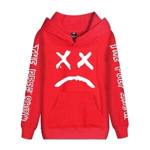 Image 5 - Cap&Mask as gifts Lil Peep hoodies men women boy girl sweatshirts hip hop Rapper Bboy DJ dancer DJ hooded jacket tracksuits coat
