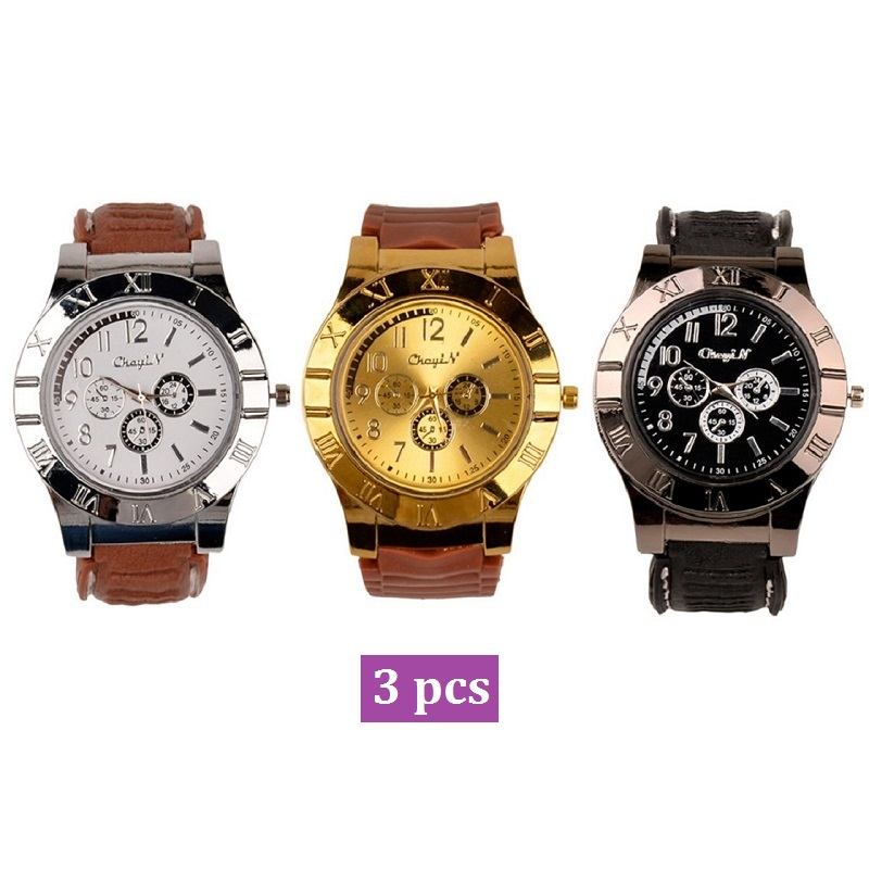 3Pcs/Lot New Design Quartz Watch with USB Electronic Rechargeable Windproof Flameless Cigarette Lighter Relogio Masculino 433Pcs/Lot New Design Quartz Watch with USB Electronic Rechargeable Windproof Flameless Cigarette Lighter Relogio Masculino 43