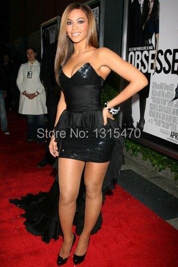 Aliexpress.com : Buy Black Beyonce Dress Short Front Long Back ...