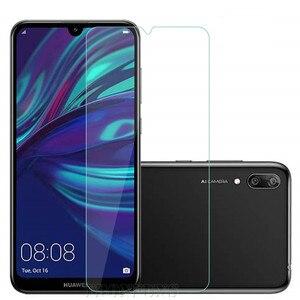Image 2 - Protector de cristal templado 9H para pantalla de móvil, película protectora para Huawei Y5 Y6 Y7 Prime Pro Y9 2019, Honor 8A 8S 10 Lite 10i