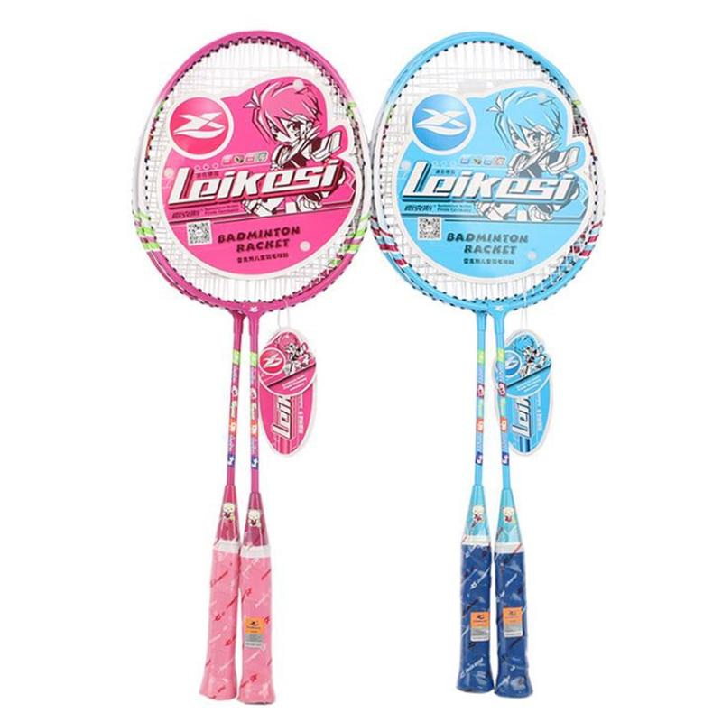 Badminton Rackets 1 Set With Original Bag Professional Raket Badminton Shuttlecock Padel Raqueta  Kids Children