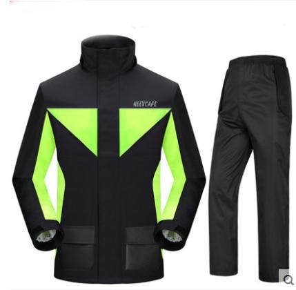 Moda Super Impermeabile Pioggia Moto Tuta Con Cappuccio Impermeabile para moto motociclista impermeabile Cappotto di Pioggia motociclo jaquetas