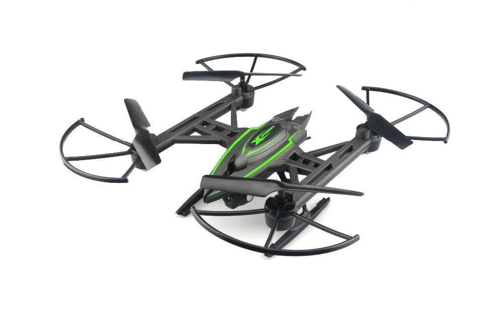 F18540 JXD 510G 2.4G 4CH 6-Axis Gyro 5.8G FPV RC Quadcopter RTF RC Drone Avec Appareil Photo 2MP avec One-key Retour Mode CF 3D-flip