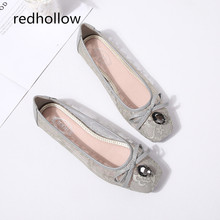 Spring Women Flats Shoes Fashion Crystal Design Women Shoes Breathable Lace Loafers Slip On Ballet Flats Summer Casual Shoes piergitar fabric printed traditional hand drawn design women loafers women casual and party shoes fashion slip on woman flats