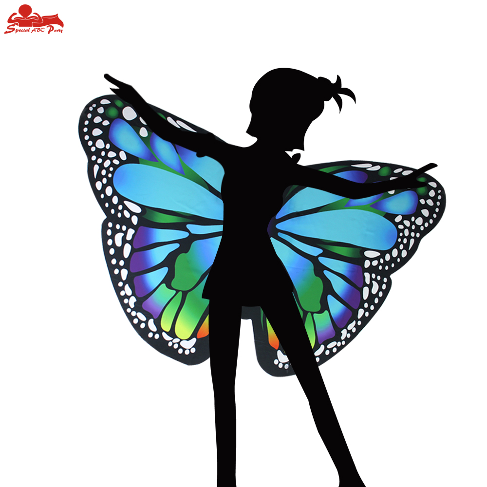 Novelty & Special Use Girls Costumes 3-9 Y.o Special Pink Cosplay Butterfly Wings For Girl Costume Party Summer Sunscreen Masque Children Toy Animal Costume