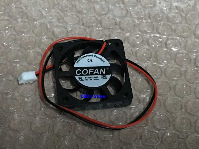 CPU Cooler Radiator Fan For COFAN F-4007L05C 4CM 4007 5V 0.05A