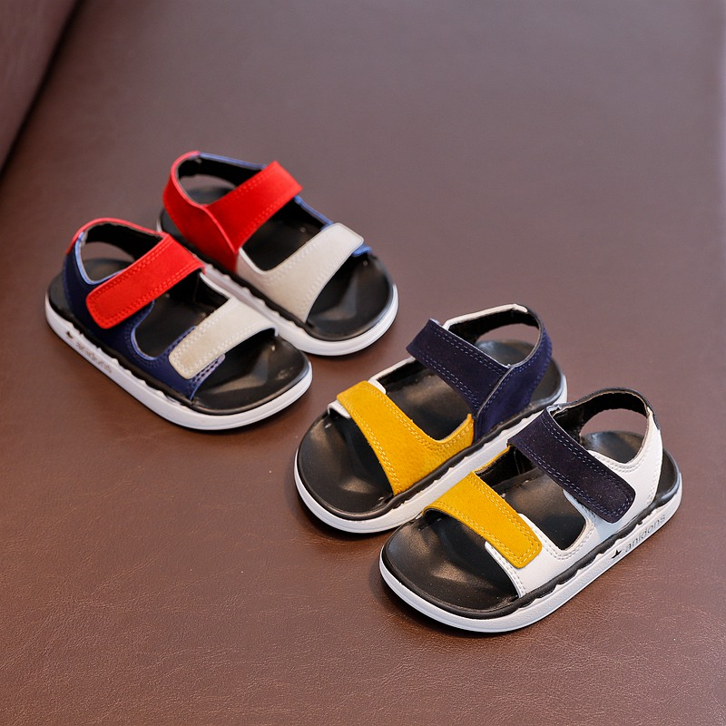 Mudibear 2018 Kids Boy Beach Sandals Children Shoes Girls Sandals Princess Shoes Sand Hard Sandal Mixed Colors Toddle Baby Shoe