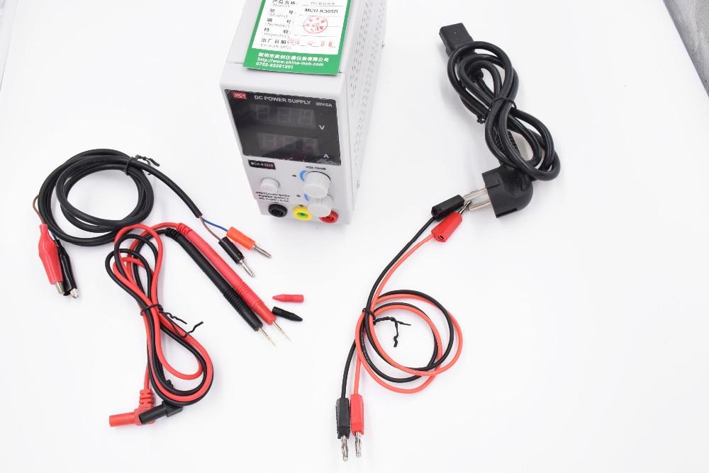 220V/110v 30v5a Mini Switching Regulated Adjustable DC Power Supply SMPS Single Channel 30V 5A Variable MCH K305D