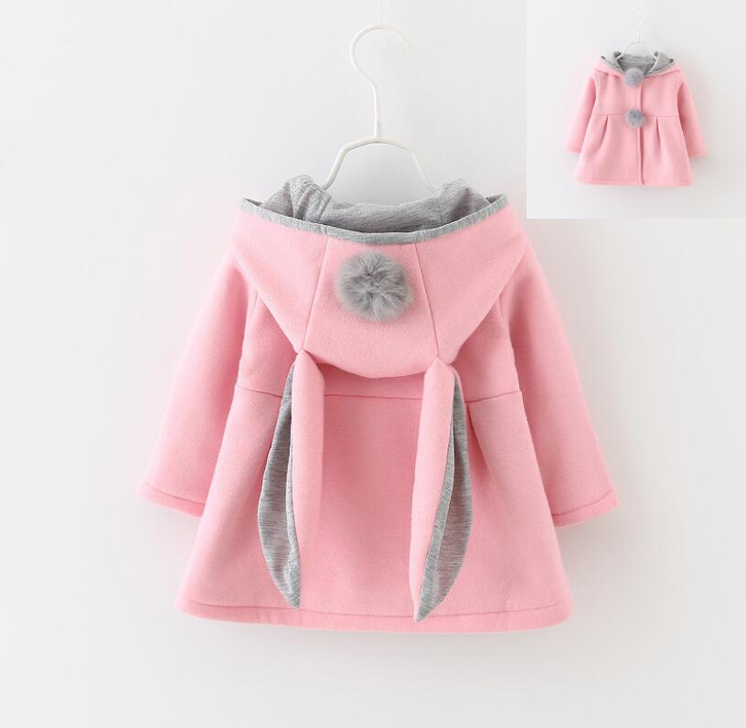Autumn Toddler Kids Baby Long Sleeve Cartoon Print Hooded Thin Coat Tops Outfits