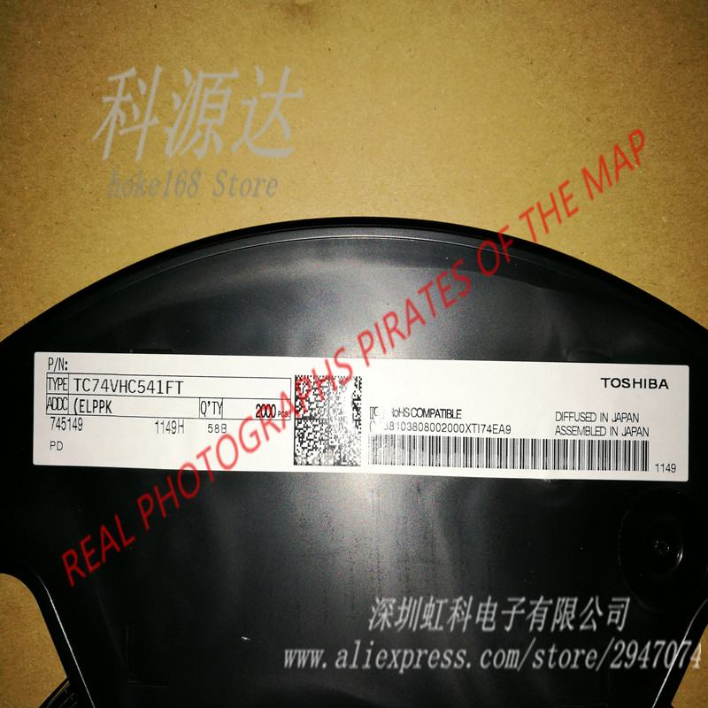 10pcs/lot TC74VHC541FT  VHC541  TSSOP20 74VHC541 In Stock