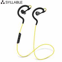 Syllable D700-2017 Earphones Bluetooth 4.0 Wireless Sport Earbuds Music Stereo Headsets with Mic for xiaomi for iPhone 5s & more