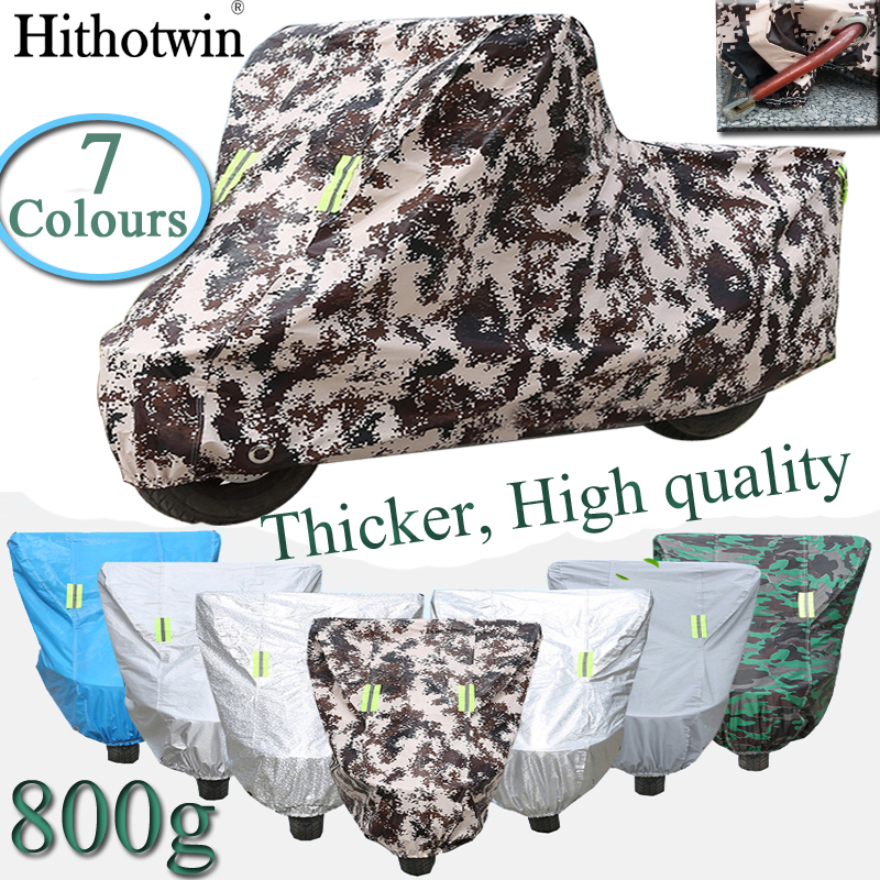 Camouflage Solid Color Motorcycle Cover Bike Waterproof Dustproof UV Protective Outdoor Indoor Moto Scooter Motorbike Rain Cover