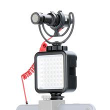 Bright LED Video Light 49 Beads Dimmable LED Video Panel Light for Ronin S Phone Gimbal Gopro 7 6 DSLR Camera Canon цена и фото