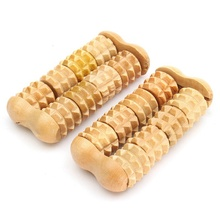 Mini Wooden Roller Health Massager Hand Figer Body Fitness Wood Massager Therapy Relaxation Beauty Health Care Tool
