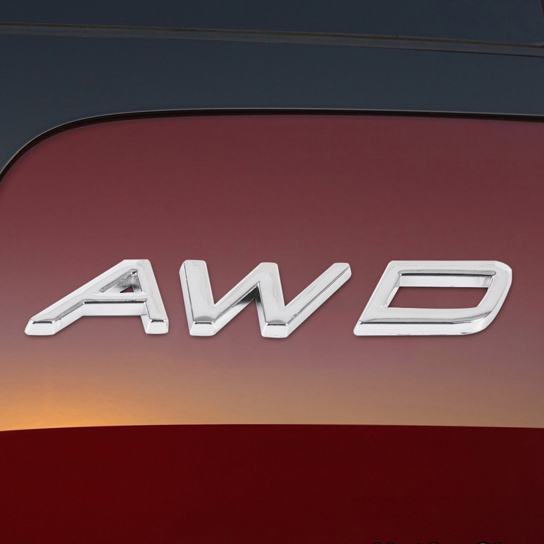 CITALL 1Pc 3D AWD Badge <font><b>Emblem</b></font> Sticker Decal Fit for Car Auto All Wheel <font><b>Drive</b></font> SUV Off Road Jeep for <font><b>BMW</b></font> Audi Ford Nissan image