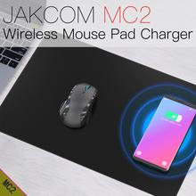 JAKCOM MC2 Mouse Pad Sem Fio Carregador venda Quente em Carregadores como adaptador omron módulo carregador portatil carregador banco do poder