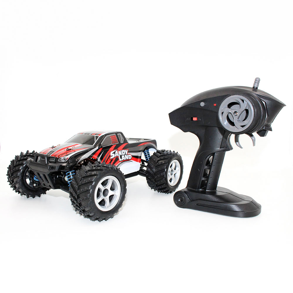 ФОТО 1:18 2.4Ghz Radio Remote Rechargeable Off-Road RC Car Vehicle Model Truck 9300
