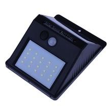 20 LED Solar Light PIR Motion Sensor Wall Light Solar Energy Lamp