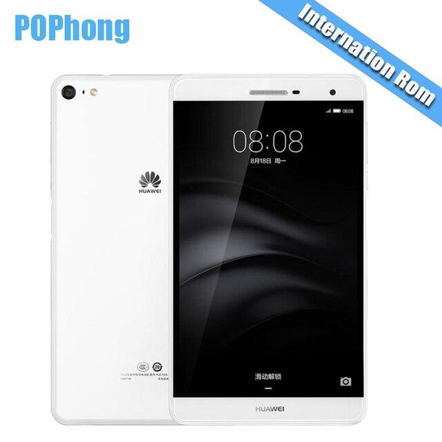 """Глобальной прошивки Huawei m2 Lite 3 ГБ Оперативная память 16/32 ГБ Встроенная память ple-703l 7 """"Планшеты PC 4 г LTE Snapdragon 615 Octa core android отпечатков пальцев S"""