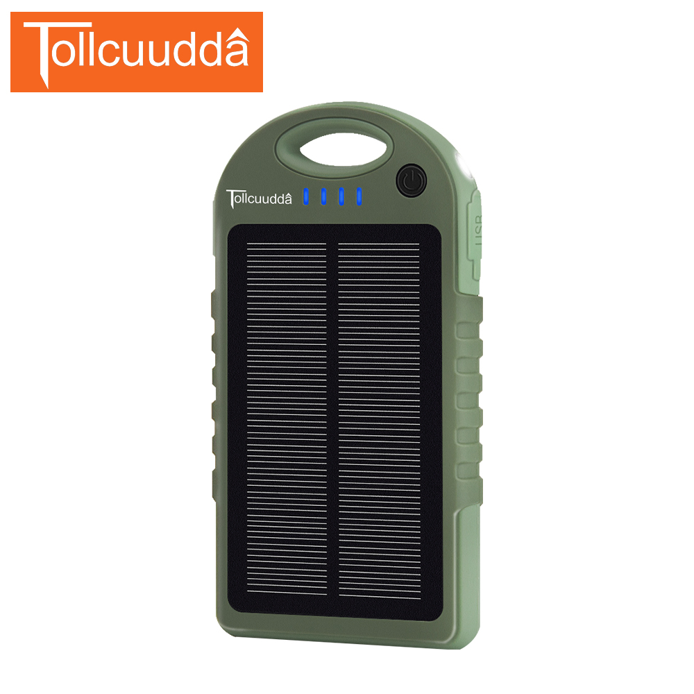 TOLLCUUDDA Newest External 10000mAh Universal Charger Backup Power Bank Portable <font><b>Battery</b></font> Pack Outdoor Accessory for <font><b>Cellphone</b></font>