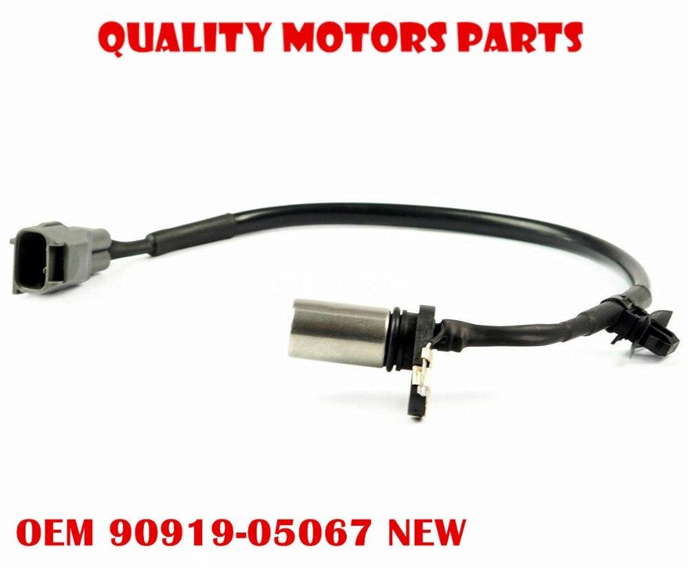 Crank Position Sensor 90919-05067 for 08-15 Scion xB Toyota Camry Previa Alphard