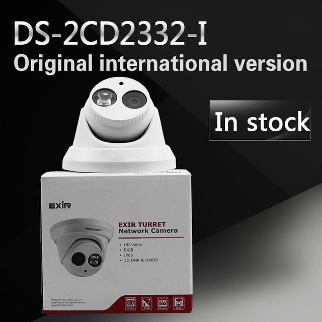 DHL frete grátis versão em inglês de DS-2CD2332-I substituir DS-2CD2335, câmera do IP da rede, completa HD1080p em tempo-real, IP66, câmera IP