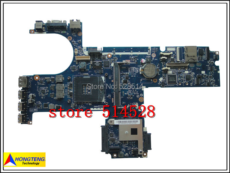 ФОТО original  593840-001 Motherboard For HP ProBook 6440B 6540B KEL00 LA-4892P Mainboard 100% Test ok