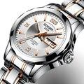 Neue Binger Uhr Frauen Luxus Marke Japan Automatische Mechanische Bewegung Handgelenk Sapphire Wasserdichte Damen Uhr gold 8051 7|watch brand women|watch goldwatch gold brand -