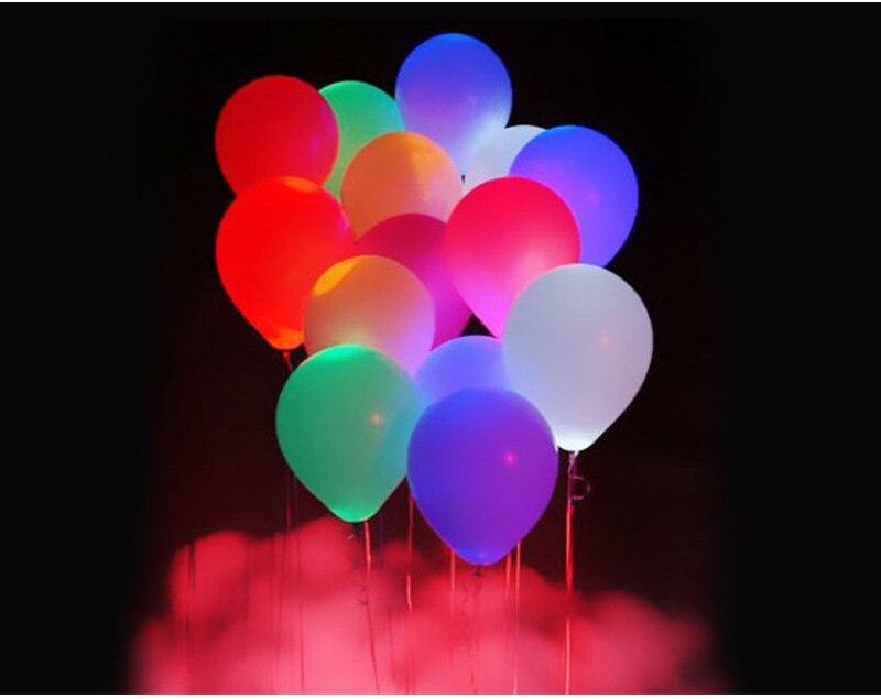 Ballonnen Met Licht : Led licht emittierende ballon leuchtenden ballon ballon leistung