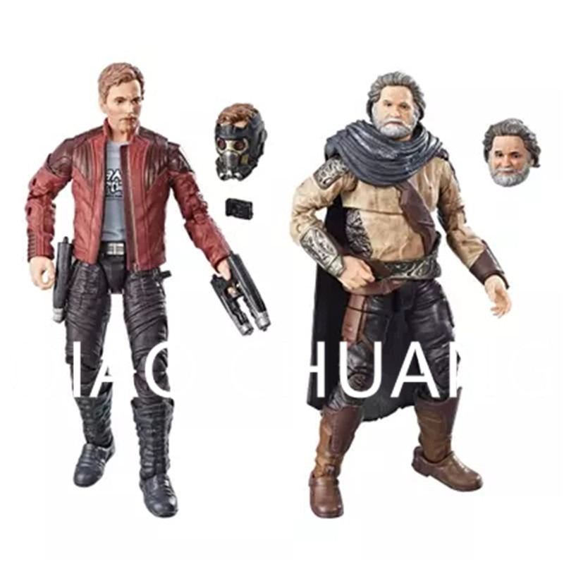 2Pcs/set Avengers:Infinity War Guardians Of The Galaxy Superhero Star-Lord EGO PVC Action Figure Model Toy G1173