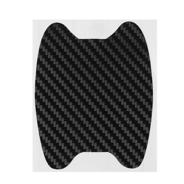 4Pcs/Set  Car Auto Door Film Sheet Handle Scratch Sticker aint scratch Protector Cover Exterior Accessories Car-styling