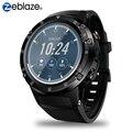 Zeblaze THOR 4 Plus 4G Global Bands SmartWatch GPS/GLONASS android horloge Quad Core Offline Muziek Slimme Assistent smart Horloge Mannen