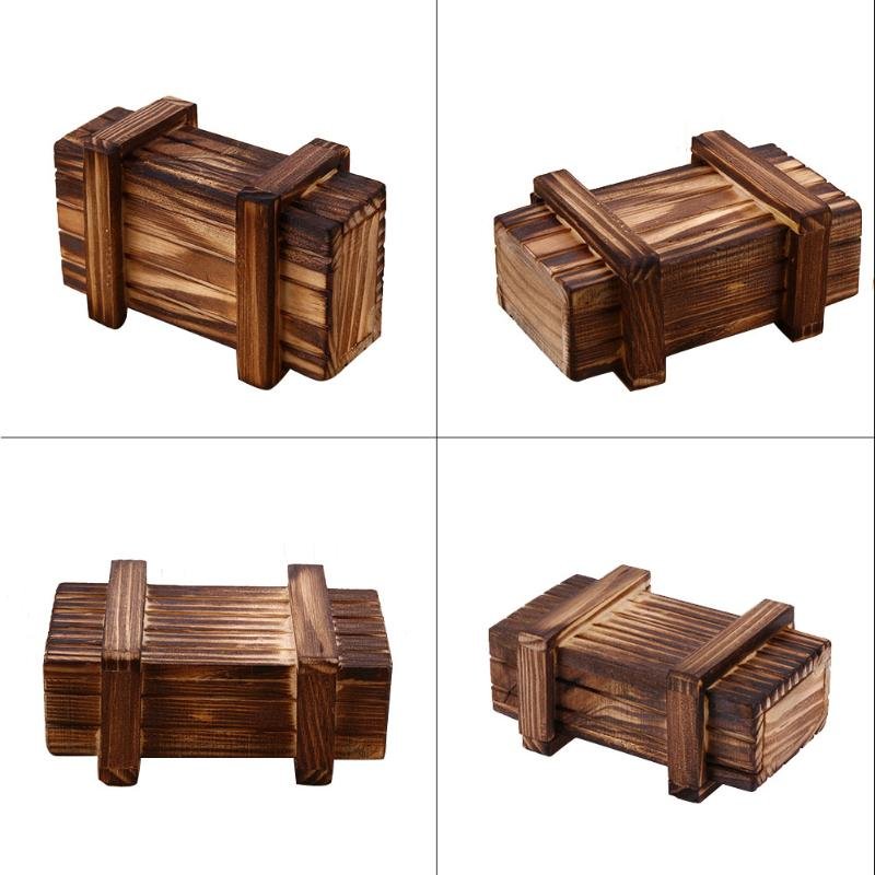 Wooden RC Rock Crawler Truck Parts Decoration Box Case Kids Children Toys Gift Present For 110 Traxxas Hsp RC Car Accessories