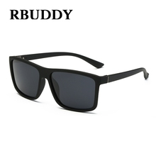 RBUDDY 2017 Men Fashion Polarized Sunglasses UV400 protection Brand Men Driving Gafas oculos de sol sunglasses For Male Square