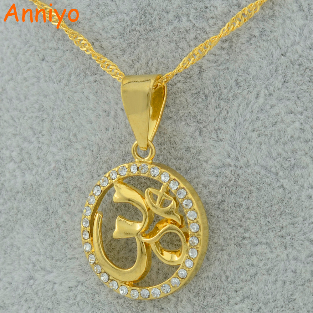 Anniyo hindoo jewelry ohm hindu buddhist aum om pendant for Zen culture jewelry reviews
