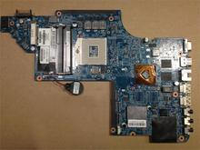 45 days Warranty For hp Pavilion DV7 DV7-6000 665986-001 laptop Motherboard for intel cpu with HM65 HD6490/1G non-integrated