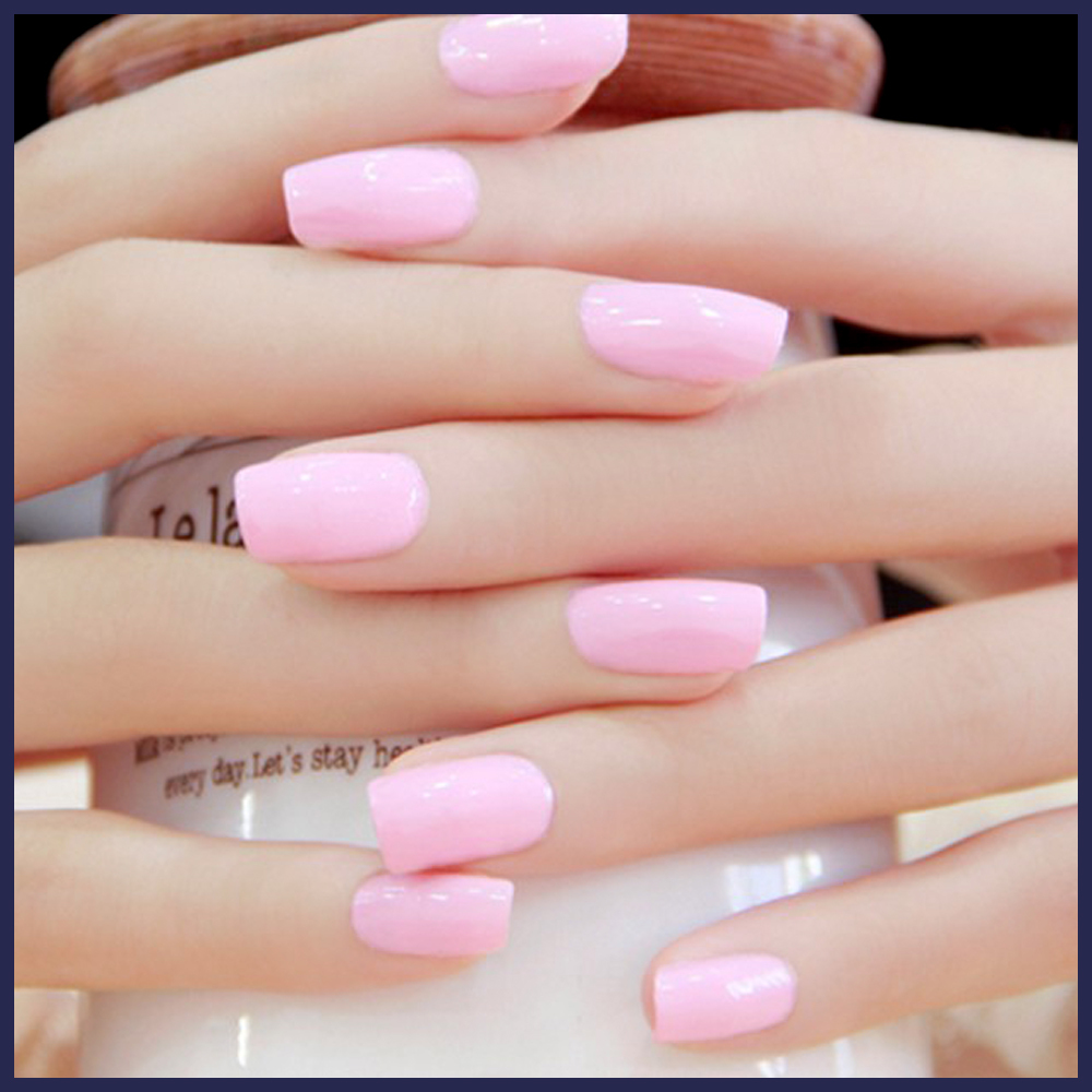 Candy Lover Super Deal French Manicure Pink gel polish UV color nail ...