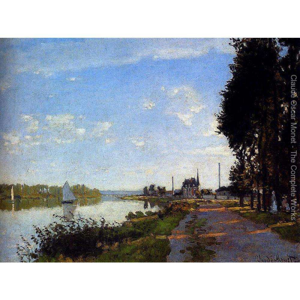 High quality Claude Monet paintings for sale Argenteuil II Canvas art hand-paintedHigh quality Claude Monet paintings for sale Argenteuil II Canvas art hand-painted