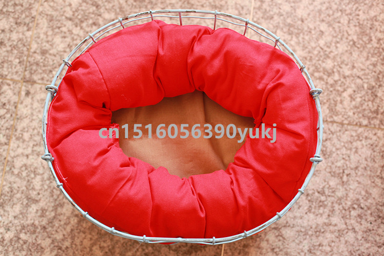 HOT Newborn Photography Basket Filler Nest Poser Pillow Wheat Donut Newborn Posing Beanbags Props Baby Pillow Auxiliary Props