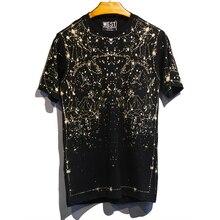 新着ホット販売夏のレジャー人格スターコットンルーズプリント tシャツ男性ヒップホップ恐怖神 ネックカジュアルな tシャツ