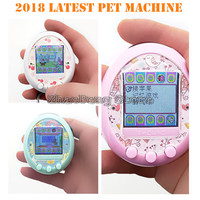 NEW 90s Color display nostalgic game machine Funny electronic virtual cyber elves of pet kids gift Color screen pet game Toy