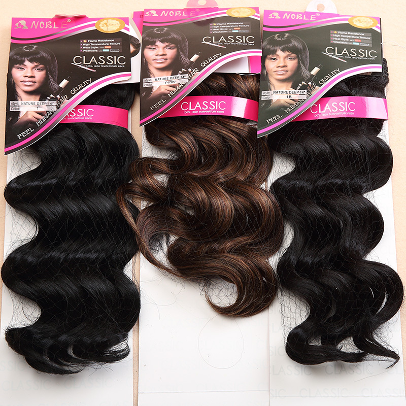 1PC+Noble Gold Classic Natural Deep Wave