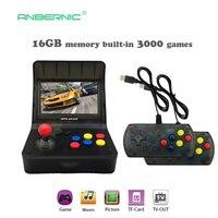 Портативная ретро мини портативная игровая консоль 4,3 дюймов 64bit 3000 видеоигры Классическая семейная игровая консоль подарок ретро Аркада 08